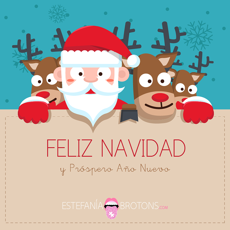 Feliz Navidad - Estefania Brotons