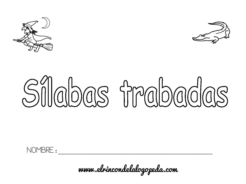 Dibujos Con La Trabada Br: Cuaderno De Sílabas Trabadas