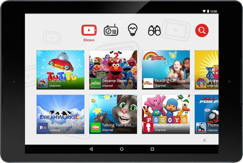 La APP Youtube KIDS