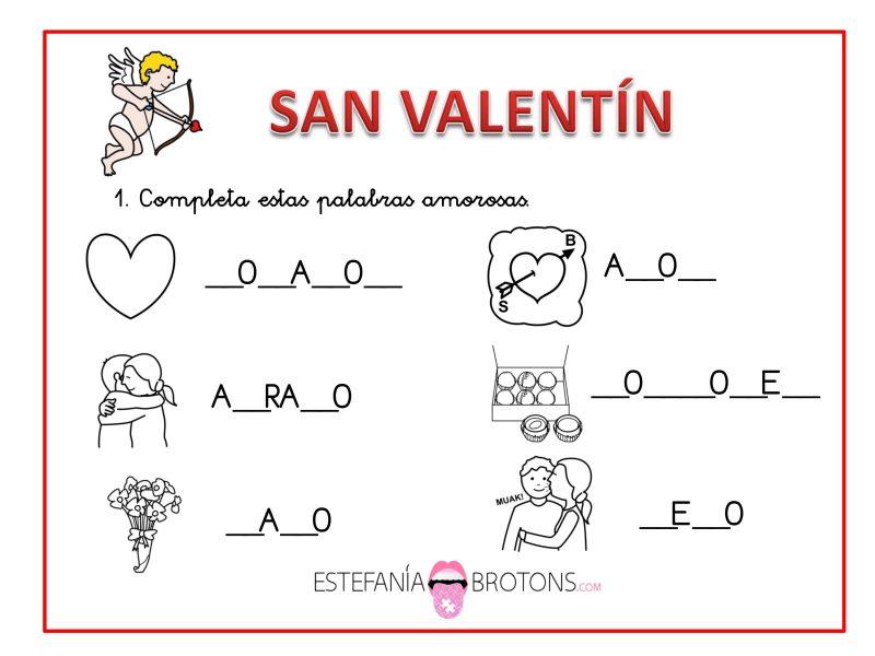 San Valentín - Audición y Lenguaje