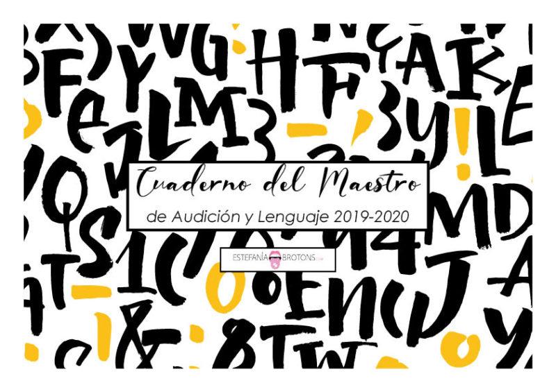 Estefania Brotons - Cuaderno del Maestro de Audición y Lenguaje
